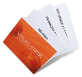 career tools - values cards