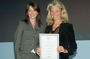 national training award for gilly freedman
